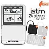 iSTIM EV-805 TENS EMS 4 Channel Rechargeable Combo Machine Unit -...