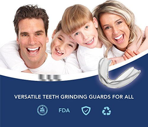 Mouth Guard for Teeth Grinding, Professional Dental Guard And Sleep Aid Custom Fit Night Dental Guard With Case For Sleeping by Arishine (Image #2)