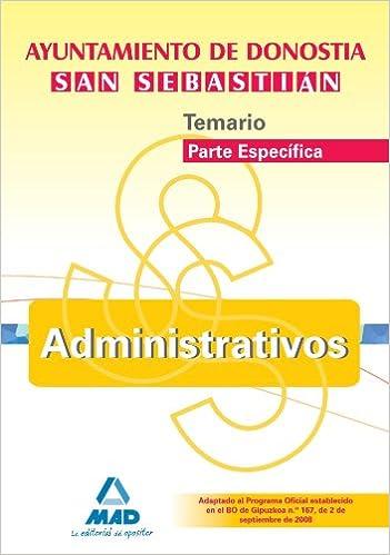 Amazon.com: Administrativos del Ayuntamiento de Donostia-San ...