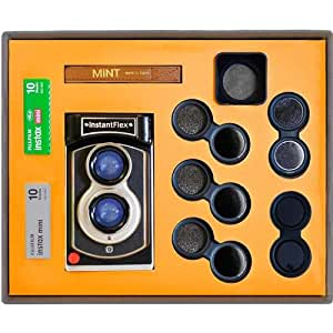 MiNT Lens Set for InstantFlex TL70 2.0 Instant Film Camera, Includes 3x ND Filters (ND2/ND4/ND8), Close-up Lens and Lens Hood