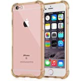 [Crystal Clear] iPhone 6 / 6s Case, iXCC NewCover Case [Shock Absorption] with Transparent Hard Plastic Back...