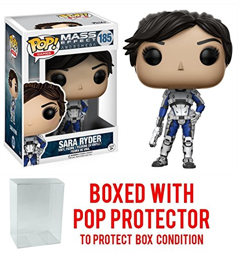 Funko Pop! Games: Mass Effect Andromeda - Sara Ryder Vinyl Figure (Bundled with Pop BOX PROTECTOR CASE)