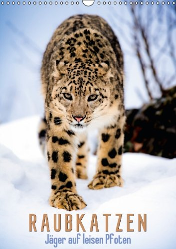 Jäger auf leisen Pfoten: Raubkatzen (Wandkalender 2014 DIN A3 hoch): Jaguar, Gepard & Co. (Monatskalender, 14 Seiten)