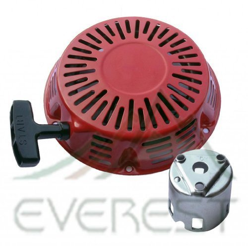 Everest New Pull Starter Recoil Cover with Flange Cup 11HP & 13HP Compatible with Honda GX340 & GX390
