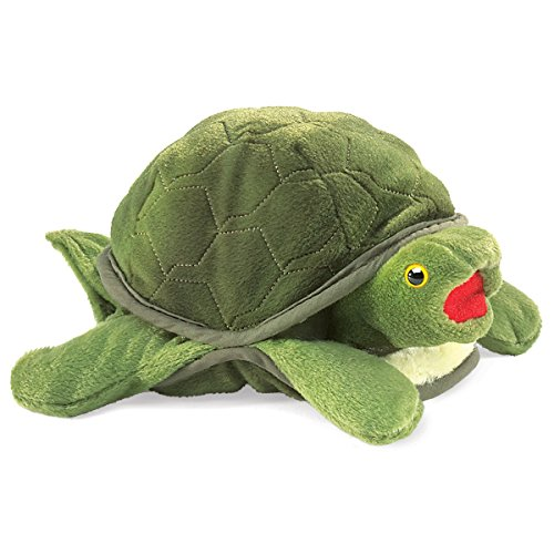 Folkmanis Baby Turtle Hand -