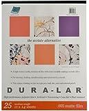 Grafix Matte .005 Dura-Lar Film, 11-Inch by 14-Inch, 25 Sheets