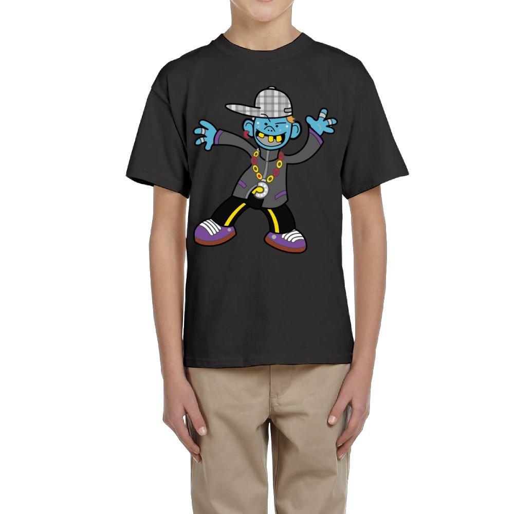 Fzjy Wnx Cool Boy Youth Crew-Neck Short-Sleeved Of T-Shirt For Boys