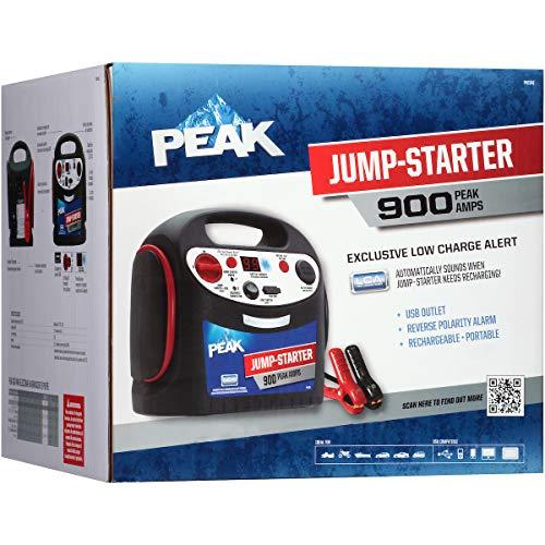- Peak PKC0AZ 900-Amp Jump Starter