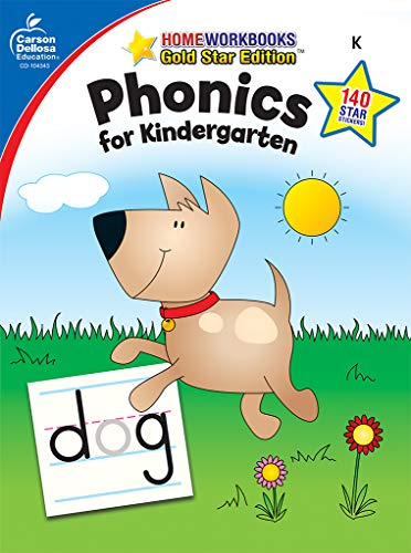 Phonics for Kindergarten, Grade K (Home - Activities Beginning