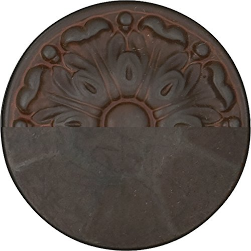 Hickory Hardware P3002-RI-25B Refined Rustic Collection Knob, 1-1/4 Inch Diameter, Iron, 25 Each by Hickory Hardware (Image #2)