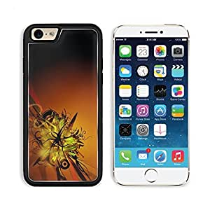 Abstract Logan Floral Fractal Pattern Apple iPhone 6 TPU Snap Cover Premium Aluminium Design Back Plate Case Customized Made to Order Support Ready MSD iPhone_6 Professional Case Touch Accessories Graphic Covers Designed Model Sleeve HD Template Wallpaper
