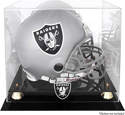 Raiders Logo Display Case - Mounted Memories Oakland Raiders Helmet Display Case
