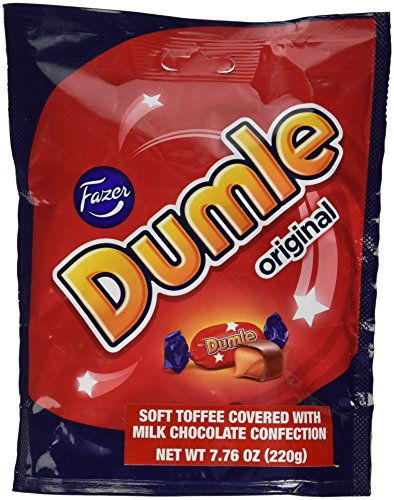 Fazer Dumle Original Soft Toffee Covered With Milk