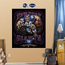 Fathead 14-14066 Wall Decal, New York Giants Liquid Blue