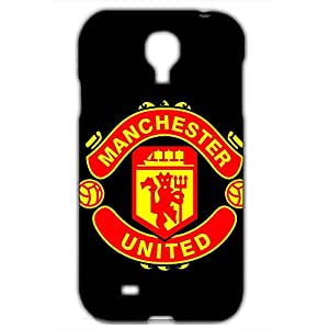 Best Design FC Manchester United FC Phone Case Cover For Samsung Galaxy S4 3D Plastic Phone Case