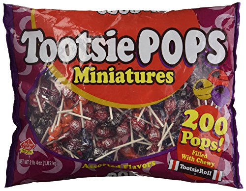 Miniature Tootsie Roll Pops - Candy & Bulk Candy 2 lbs. 4 oz.