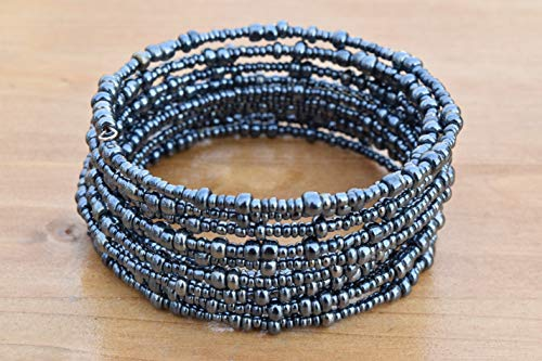 Handmade African Bracelet - African Gift - Beaded Wrap for sale  Delivered anywhere in USA