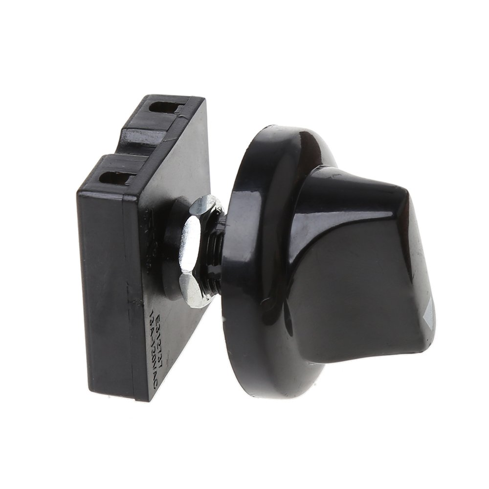 William-Lee 4-Position 3-Speed Fan Selector Rotary Switch Gears Speed Governor Controller With Knob 13AMP 120V-250V