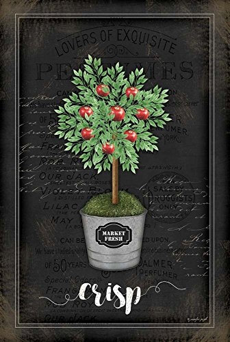 - Apple Topiary by Jennifer Pugh Art Print, 13 x 20 inches