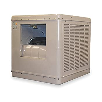 Ducted Evaporative Cooler, 6500 cfm, 3x2f;4HP - 1 Each