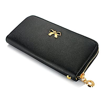 GEARONIC TM Fashion Lady Women Clutch Leather Long Wallet Card Holder Purse Handbag Bag