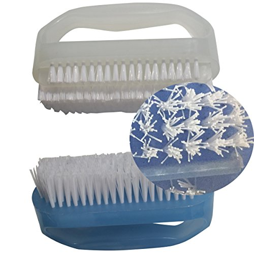 Coralpearl Finger Nail Brush For Deep Cleaning Hand Scrub