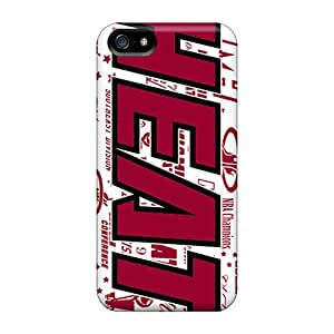 Iphone High Quality Tpu Case/ Miami Heat UwXadHN7382cquhE Case Cover For Iphone 5/5s