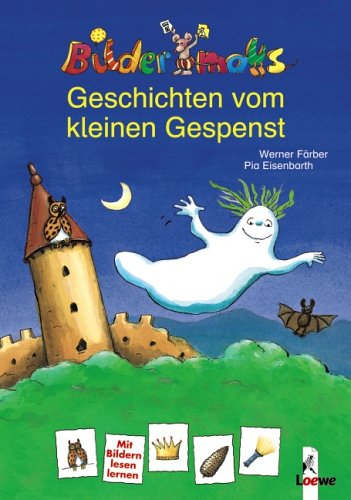Bildermaus-Geschichten vom kleinen Gespenst/Bilderdrache - Das kleine Burggespenst in der Schule (Wendebuch)
