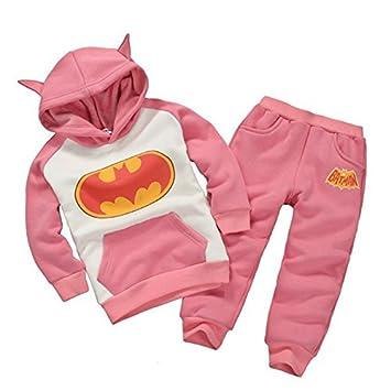 0de9f9317310 Amazon.com  2015 New Autumn Winter Boy Set Thermal Batman Children ...