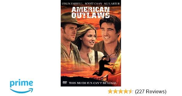 Amazon Com American Outlaws Colin Farrell Scott Caan Ali