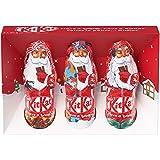 NESTLÉ Kitkat Holiday Milk Chocolate Santas (3 X 20 g), 3 Count