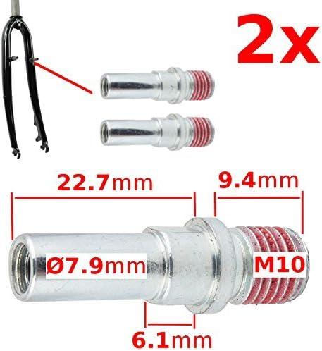 2-Pieces Cantilever or Bicycle V-brake Frame Screw Bolt Mount M10