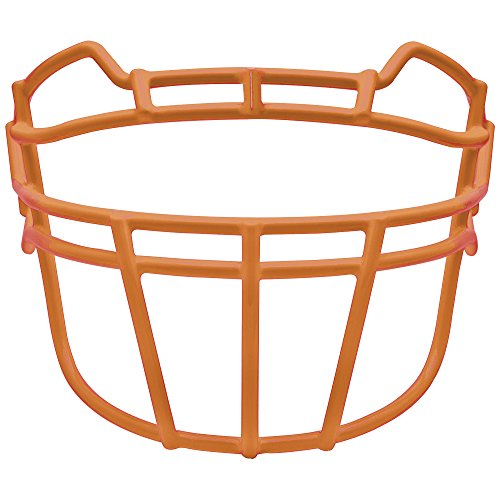 Schutt Sports Youth VROPO DW TRAD YF Carbon Steel Vengeance Football Faceguard, Burnt (Adult Ropo Face Mask)