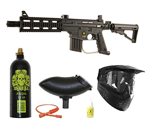 (Tippmann US Army Project Salvo Bronze Paintball Gun Package)