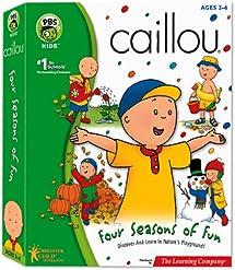 Caillou Four Seasons of Fun - PC/Mac: Video Games