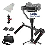 motorized gimbal - MOZA Air 3-Axis Handheld Gimbal Stabilizer for DSLR and Mirrorless Camera, with Moza Thumb Controller and Dual Handle, i.e. Sony A7, Panasonic GH5/4/3, Canon 5D