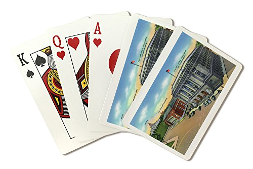 Providence, Rhode Island - View of Capitol Bldg, US Post Office, Court and Custom Houses (Playing Card Deck - 52 Card Poker Size with Jokers)