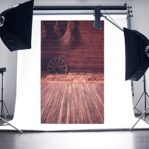 SCASTOE Photography Background Wooden Wall Floor Warehouse Old House Backdrops Computer printed Seamless Background Studio Props