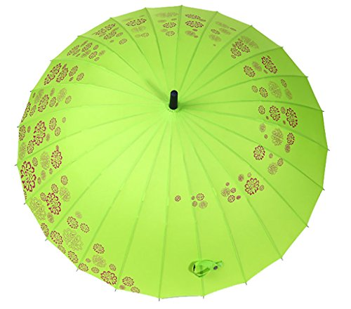 Generic Large-size Foldable Umbrella Size 62inch Color Yellow by Generic