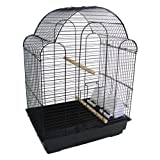 YML 3/8 in. Bar Spacing Shell Top Bird Cage, My Pet Supplies