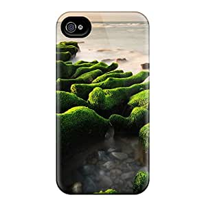 Favorcase Cases Covers For Iphone 6 - Retailer Packaging Green Rocks Landscape Protective Cases
