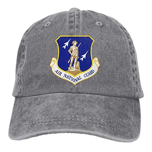 Men Women United States Air Force National Guard Baseball Cap Denim Dad Hat Trucker's Cap