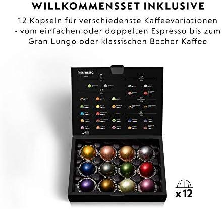 Krups Nespresso Vertuo Plus Machine à café Capacité du réservoir : 1,7 l argenté