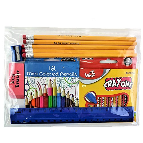 Wholesale School Supplies Kit - Case of 48 by A+
