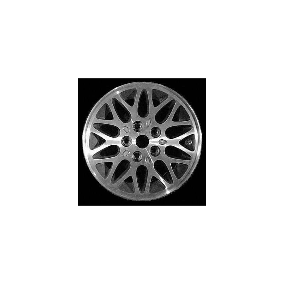 93 95 JEEP GRAND CHEROKEE ALLOY WHEEL RIM 15 INCH SUV, Diameter 15, Width 7 (10 SPOKE), MACHINED FACE. GREEN VENTS, 1 Piece Only, Remanufactured (1993 93 1994 94 1995 95) ALY09011U75