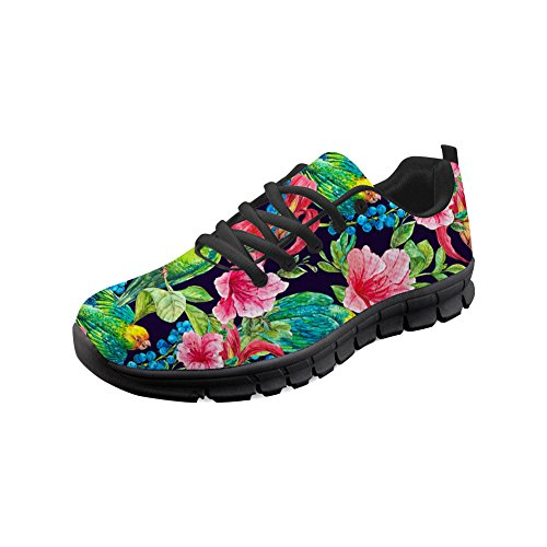 Easy Flats 1 Sneakers Summer Coloranimal Go for Walking Durable Women Spring Tropical qtPzwzfWO