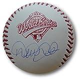 Derek Jeter Signed Autographed MLB 1996 World Series Baseball NY Yankees Steiner