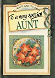 To a Very Special Aunt, Pam Brown, 1850159300