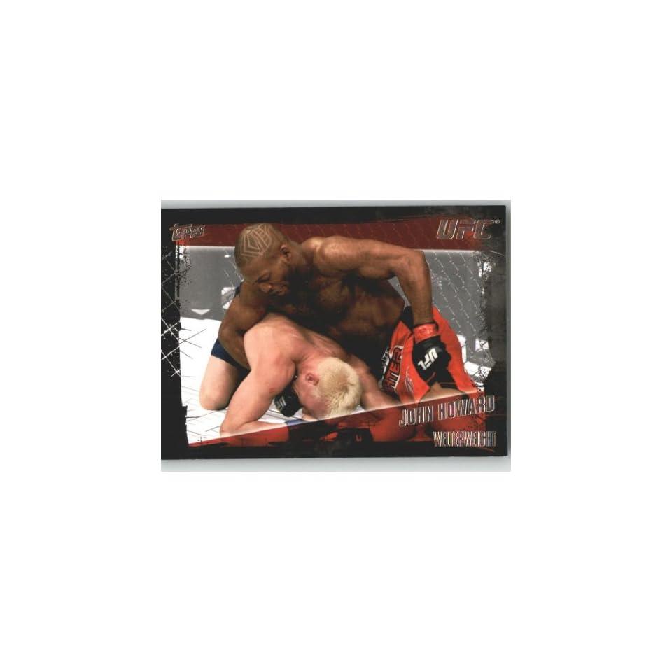 2010 Topps UFC Trading Card # 101 John Howard (Ultimate
