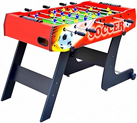 MoKo 100101 – Futbolín Vertical para niños Barras rientranti Salvaspazio, Rojo: Amazon.es: Juguetes y juegos